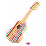 Vaivorykštės klasikinė gitara vaikui 6 stygos Lelin