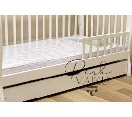 Kūdikio lovytė Julija+kokosų/putų poliuretano/grikių čiužinys