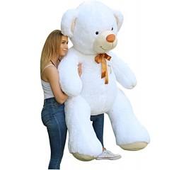 Pliušinis Meškinas 190 cm Baltas