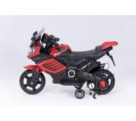 Elektrinis motociklas su LED lemputėmis