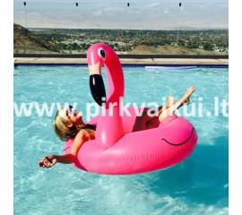 Pripučiamas ratas Flamingas 90cm