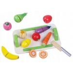 Medinis vaisių/daržovių rinkinys