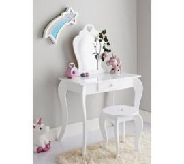 Kosmetinis staliukas su kėdute ❤️