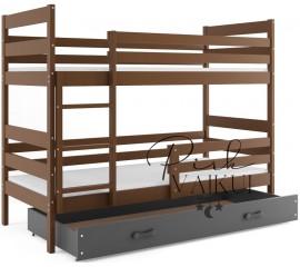 Dviaukštė lova ERYK ruda