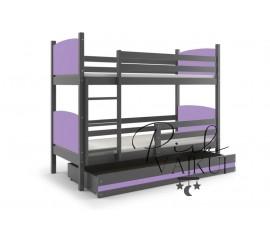Dviaukštė lova TAMI grafiti