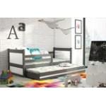 Dvivietė ištraukiama lova RICO grafiti