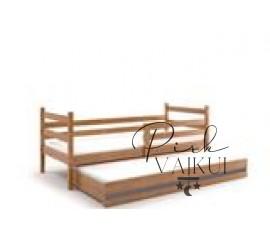 Dvivietė ištraukiama lova ERYK alksnis