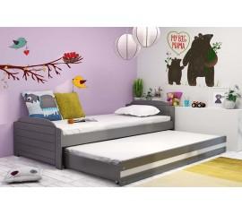 Dvivietė ištraukiama lova LILA grafiti