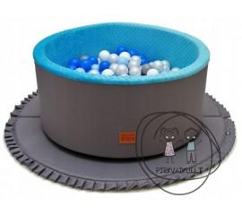 Baseinas su 300 kamuoliukų + minkštas kilimas