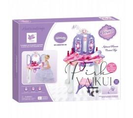 Kosmetinis staliukas su MP3