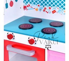 Medinė virtuvėlė Ela