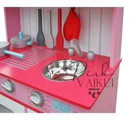 Medinė virtuvėlė Sofia PINK