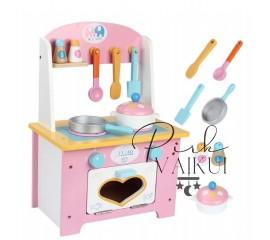 Medinė virtuvėlė Love