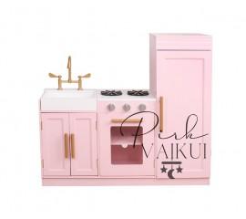 Medinė virtuvėlė Rosa