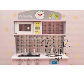Medinė virtuvė LOVE