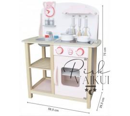 Medinė virtuvė Rondo2