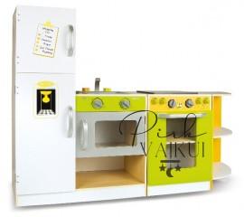 Medinė modulinė virtuvė