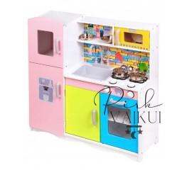 Medinė virtuvėlė POLI