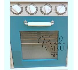 Medinė virtuvė Vintage Blue